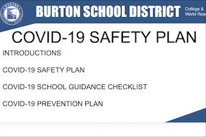 Parent Webinar Video Recording - TK-6 Hybrid Schedule Safety Information