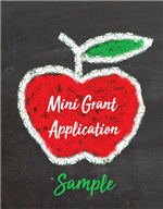 mini grant sample