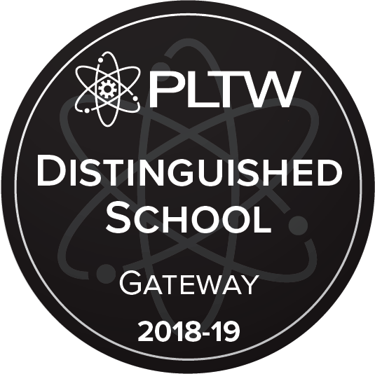 Project lead the way distinguished school.